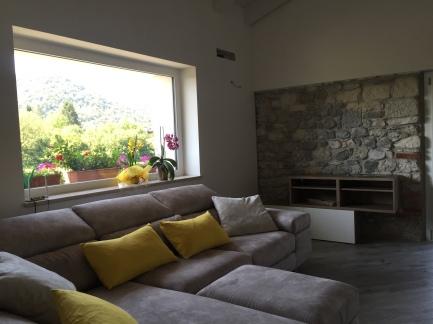 Vista dal salotto _ Casa DGT